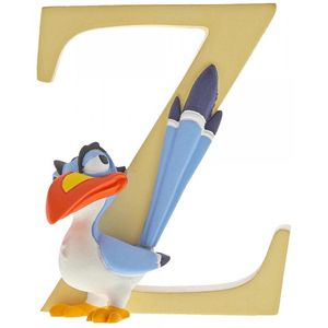 Disney Letter Z Figurine: Zazu (The Lion King)