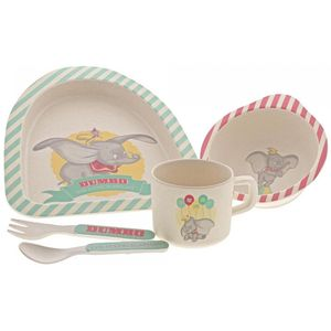 Disney Enchanting Organic Bamboo Dinner Set - Dumbo