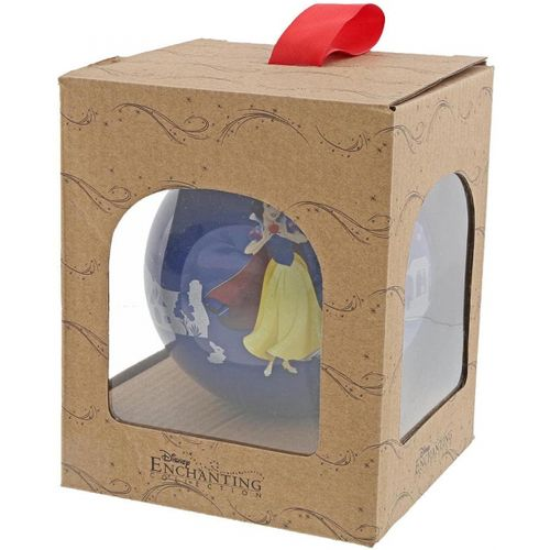Disney Enchantiing Collection Snow White Bauble - The Little Princess Christmas Hanging Decoration