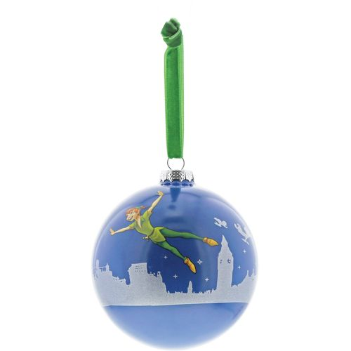 You Can Fly - Peter Pan Bauble Disney Enchanting Collection Christmas Hanging Decoration A29716
