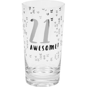 Luxe Birthday Pint Glass - 21