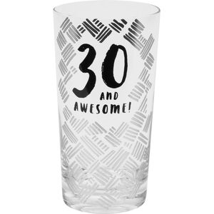 Luxe Birthday Pint Glass - 30