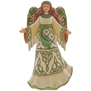 Heartwood Creek Angel Figurine - Miracles From Moors to Mountains (Irish Angel)
