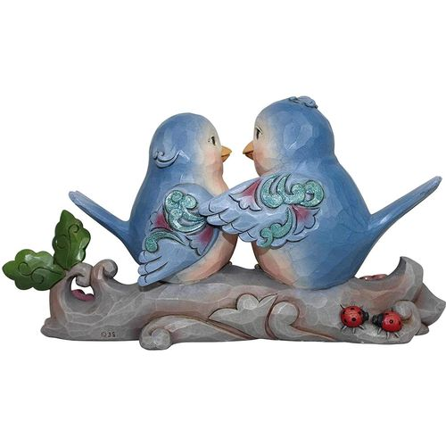 Heartwood Creek Happiness Together Lovebirds Figurine