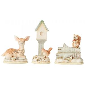 Heartwood Creek White Woodland Mini Animal Set
