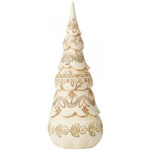 Heartwood Creek White Woodland Figurine - Festive Forest Christmas Tree