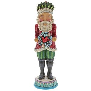 Heartwood Creek Winter Wonderland Nutcracker Figurine - Winters Warm Wonders