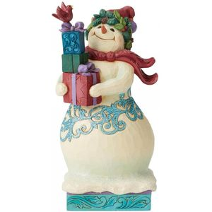 Heartwood Creek Winter Wonderland Figurine Snowman