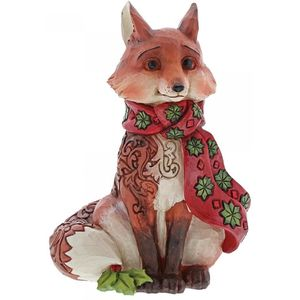 Heartwood Creek Winter Wonderland Figurine Festive Fox