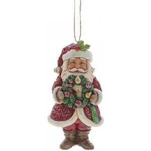 Heartwood Creek Hanging Ornament - Winter Wonderland Santa