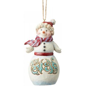 Heartwood Creek Hanging Ornament W Wonderland Snowman