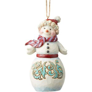 Heartwood Creek Hanging Ornament - Winter Wonderland Snowman