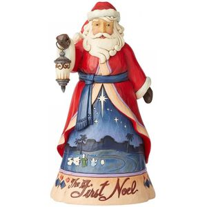 Heartwood Creek Santa Figurine Christmas Song