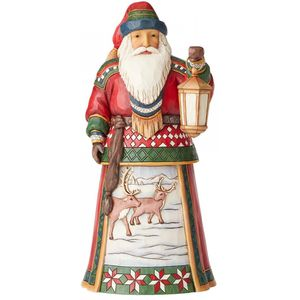 Heartwood Creek Santa Figurine - Annual Lapland Santa