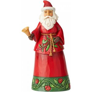 Heartwood Creek Santa Figurine Sound the Christmas Bell