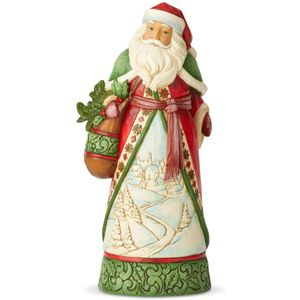 Heartwood Creek Santa Figurine Christmas Is Calling