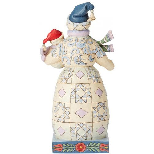 Heartwood Creek Bundled in Love Figurine Snowman with Snowbaby 6004140