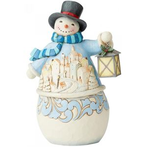 Heartwood Creek Snowman Figurine - Calm is Bright