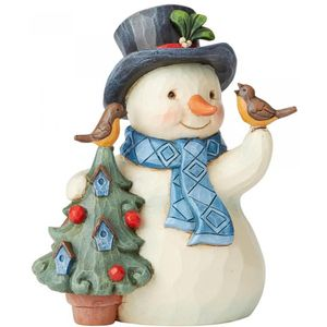 Heartwood Creek Snowman Figurine (Pint Size) - Heartfelt Holidays