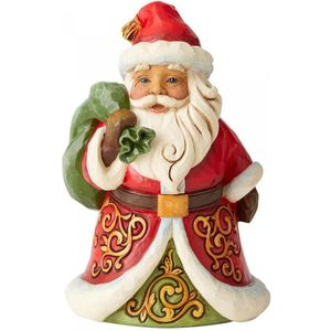 Heartwood Creek Santa Figurine Be True & Believe