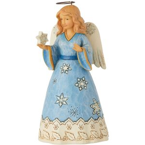 Heartwood Creek Christmas Angel Figurine - Heavens Tiny Treasures