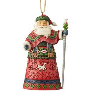Heartwood Creek Hanging Ornament Lapland Santa