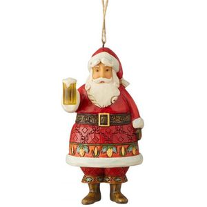 Heartwood Creek Hanging Ornament Craft Beer Santa