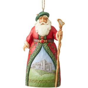 Heartwood Creek Hanging Ornament Irish Santa