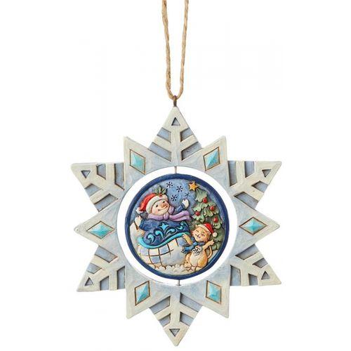 Heartwood Creek Hanging Ornament Snowflake 6004320