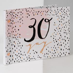 Luxe Birthday Guest Book & Photos - 30