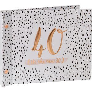 Luxe Birthday Guest Book & Photos - 40