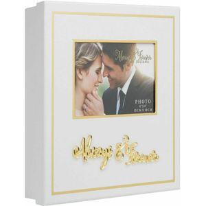 Always & Forever White & Gold Keepsake Box