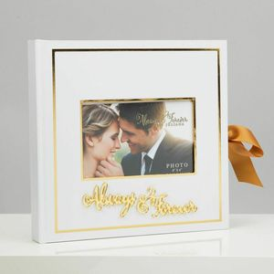 "Always & Forever Gold Foil Scrap Book 6""x4"""