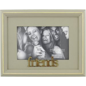 "Wooden Photo Frame 6"" x 4"" - Friends"