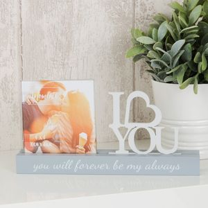 "Celebrations Photo Frame - 4"" x 4"" - I Love You"