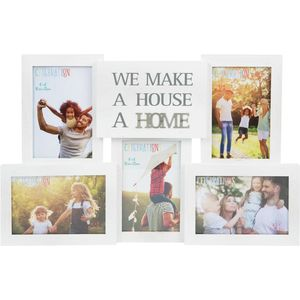 Celebrations Collage Photo Frame with Metal Wording - Home