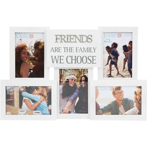 Celebrations Collage Photo Frame with Metal Wording - Friends