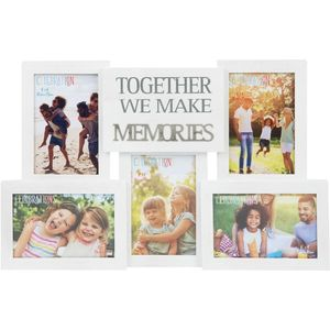 Celebrations Collage Photo Frame with Metal Wording - Memories