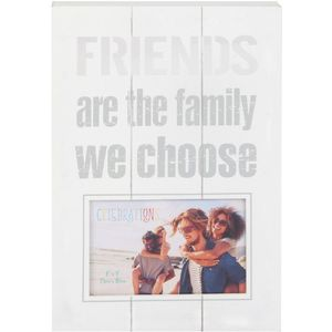 "Celebrations Panel Photo Frame 6x4"" - Friends"