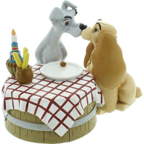 Disney Magical Moments Figurine - Lady & The Tramp ( Love) DI193