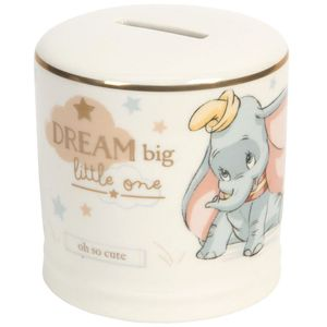 Disney Magical Beginnings Ceramic Money Bank - Dumbo