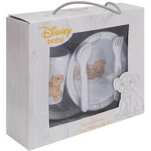 Magical Beginnings 5 Pc Melamine Crockery Set - Simba