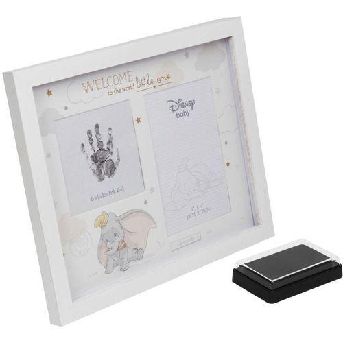 "Disney Magical Beginnings Hand Print & Photo Frame 4"" x 6"" - Dumbo"