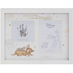 "Disney Magical Beginnings Hand Print & Photo Frame 4x6"" - Bambi"
