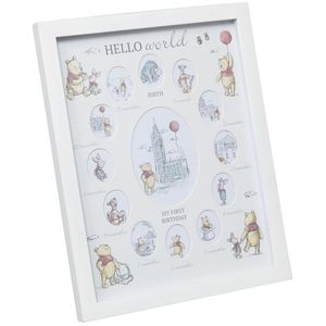 Disney Christopher Robin My First Year Collage Photo Frame - Pooh & Friends
