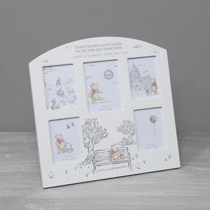 Disney Christopher Robin Arch Collage Photo Frame - Winnie the Pooh & Friends