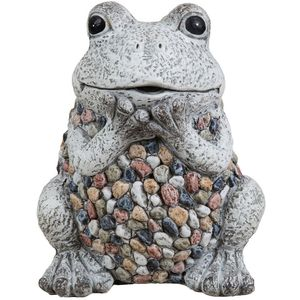 Country Living Mosaic Polystone Garden Ornament - Frog