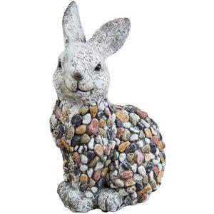 Country Living Mosaic Polystone Garden Ornament -Rabbit