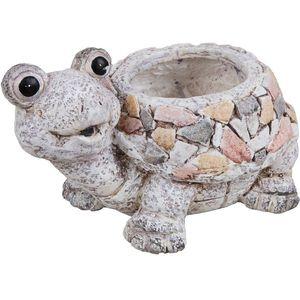 Country Living Mosaic Polystone Planter - Tortoise
