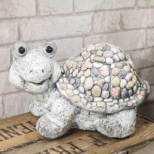 Country Living Mosaic Polystone Ornament - Tortoise